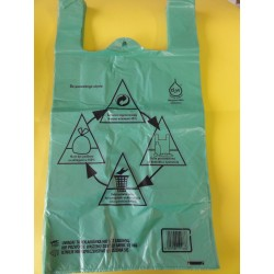 Rek eko HDPE D2W biodegradowalna NADRUK - a'200