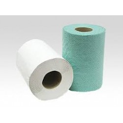 Ręcznik rola MINI - 14 cm zielony 1W
