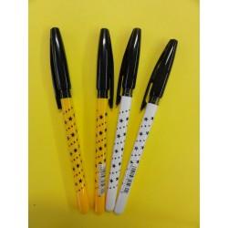Długopis REYNOLDS S-FINE czarny TOMA