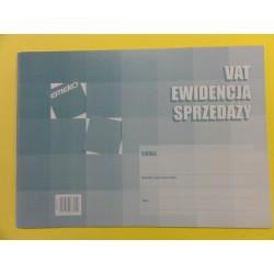 Druk ewid. sprzedaży A'4 VAT - E 701
