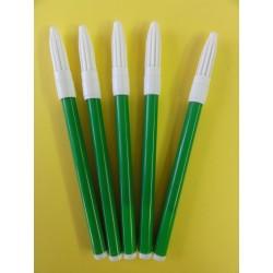 Flamastry pojedyncze zielone