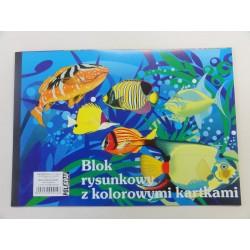 Blok rysunkowy A4 kolor