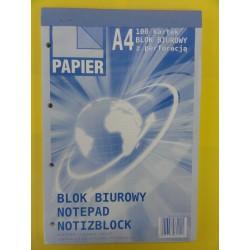 Blok biurowy A'4 - 100 kartek